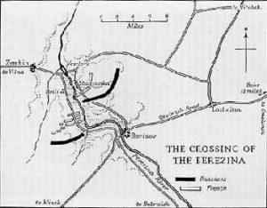 Beresina-cartina